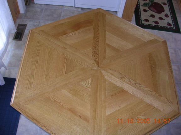 Index Of LaRueWoodworkingCategoriesTables - Six sided table